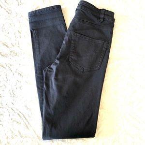 H&M, Skinny Jeans NWT Dark Gray Size 26